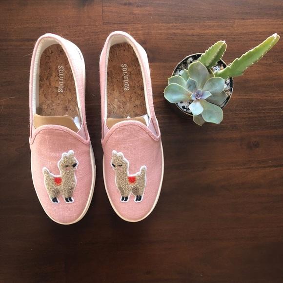 Soludos Shoes   Nwt Llama Sneaker Sz 85
